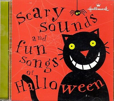 Hallmark SCARY SOUNDS & FUN SONGS OF HALLOWEEN: CLASSIC PARTY MUSIC & EFFECTS CD