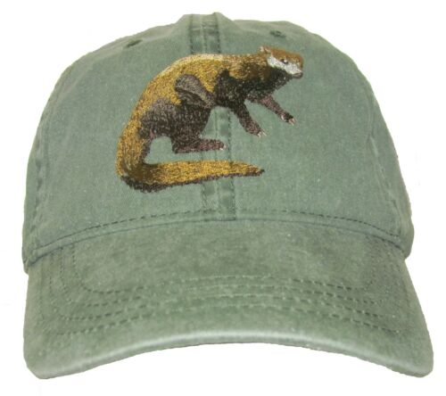 Fisher Embroidered Cotton Cap NEW Wildlife