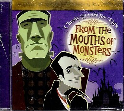FROM THE MOUTHS OF MONSTERS: CLASSIC HALLOWEEN STORIES & SOUND EFFECTS FOR KIDS! - Classic Halloween Stories