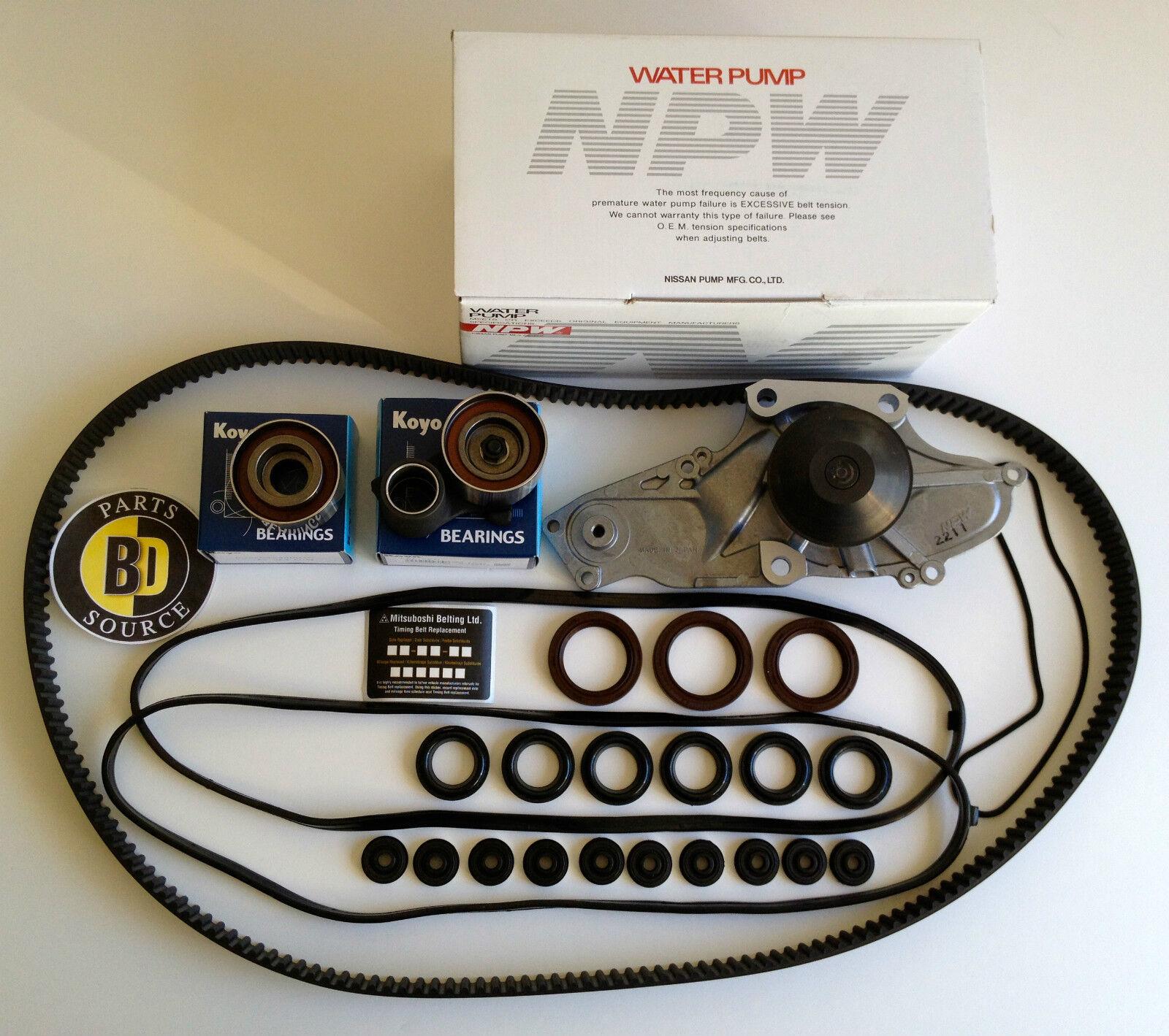 COMPLETE Timing Belt Water Pump Kit 97-02 Honda 3.0L V6