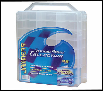 Hot Wheels Matchbox Jammers 48 Diecast Car Storage Case NEW Thread Bead Jewel