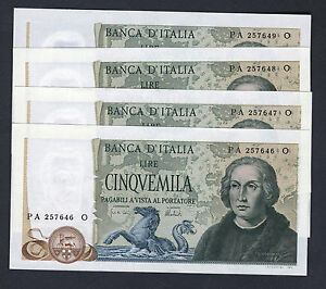 5000-LIRE-1973-COLOMBO-3-CARAVELLE-FDS