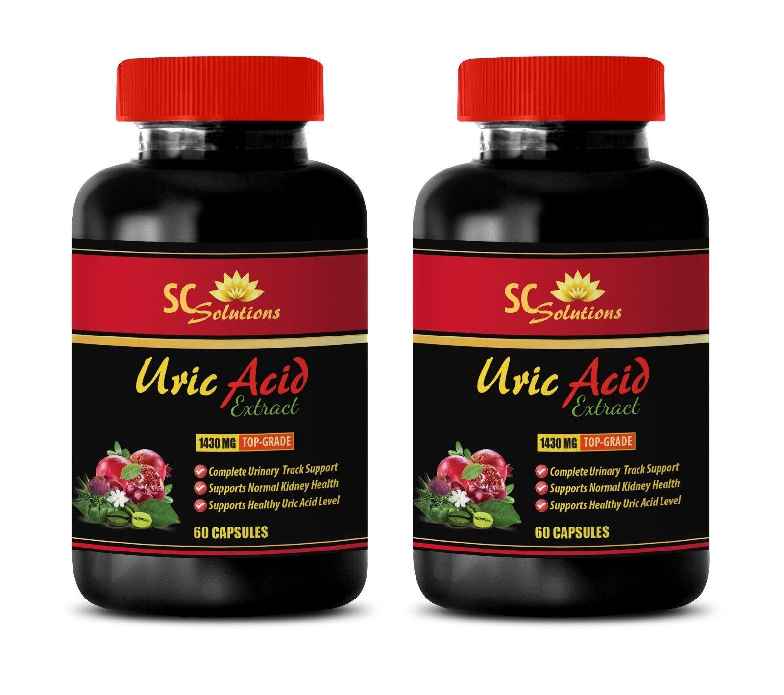 Immune system - URIC ACID FORMULA - kidney support standard process - 2 Bottles