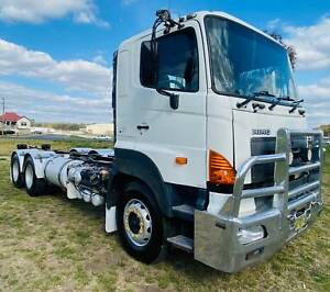 Hino 700 Series FS1E 6x4 Cab/Chassis Truck.One owner, ex BP. 450HP PTO Inverell Inverell Area Preview