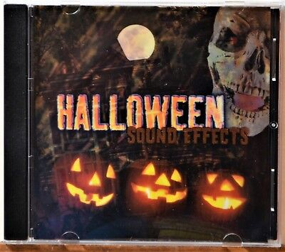Scary Halloween Sounds & Spooky Sound Effects (CD Halloween Sound Effects Horror Spooky Scary Thrills NICE DISC)