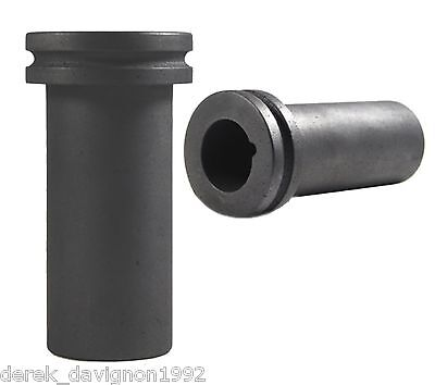 """G10 GRAPHITE CRUCIBLE FOR MELTING GOLD SILVER  2Kg CAPACITY 2-1/2""""x 6-1/2"""""""