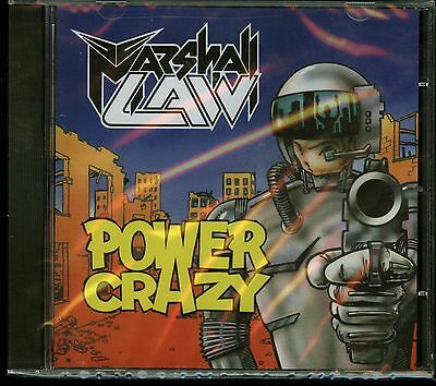 Marshall Law Power Crazy CD new Only 500 copies