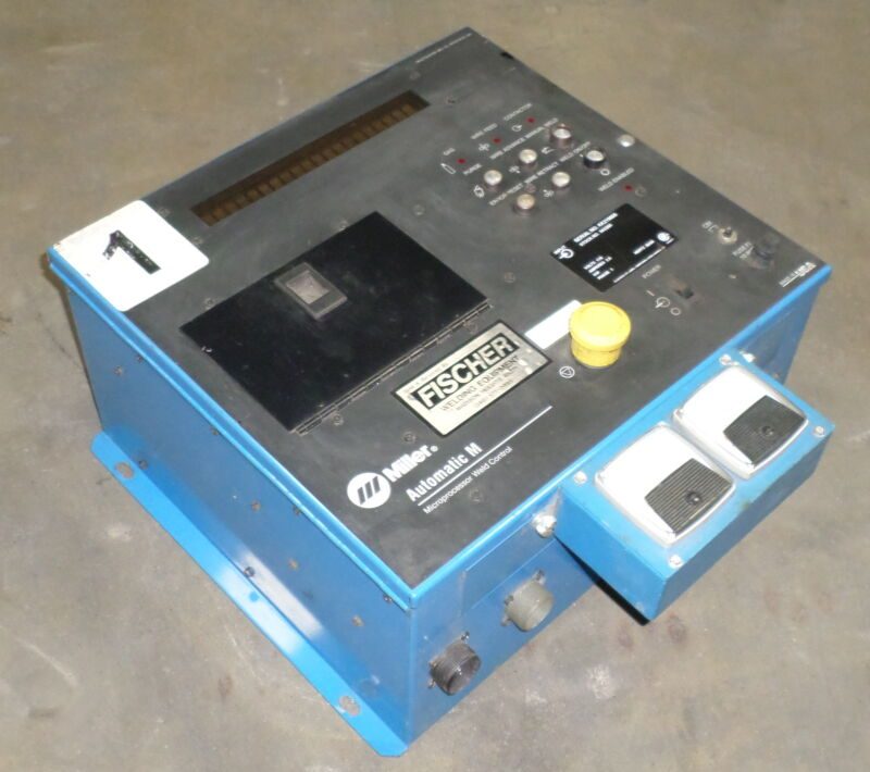 MILLER AUTOMATIC M MICROPROCESSOR WELD CONTROL AUTOMATED WELD CONTROLLER