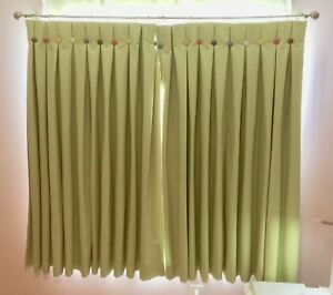 Custom Made Curtains with rod  60 x  60 inches