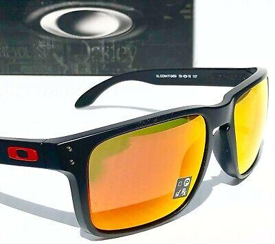 Neu Oakley Holbrook XL Matt Schwarz Ducati Rot Prisma Rubin Gläser Sonnenbrille