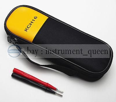 Test Probe Tp1 Carry Soft Casebag Use For Clamp Meter Fluke T5-1000 T5-600