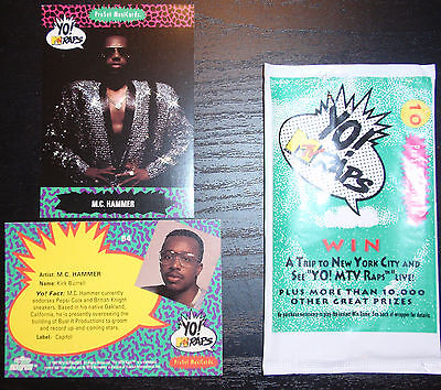 M. C. Hammer ProSet Yo! MTV Raps (1991) MusiCards: #54