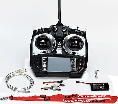 Graupner S1005.77.DE, MZ-18 HoTT, 9-Kanal-Fernlenksender 2,4GHz ohne Empfänger