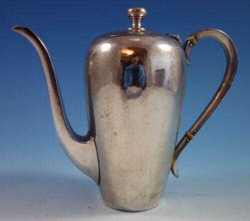 Round By Porter Blanchard Sterling Silver Handmade Demitasse Pot (#1664)
