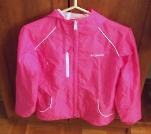 Girls Size 14/16 Spring/Fall Columbia Hooded Jacket