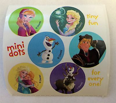 60 Disney Frozen Stickers  Party Favors Elsa Anna Olaf Kristoff Teacher Supply](Elsa Stickers)