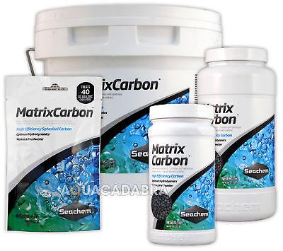 Carbon Filter Media (Seachem Matrix Carbon Filter Media Chemical Mechanical Aquarium Fish Tank)