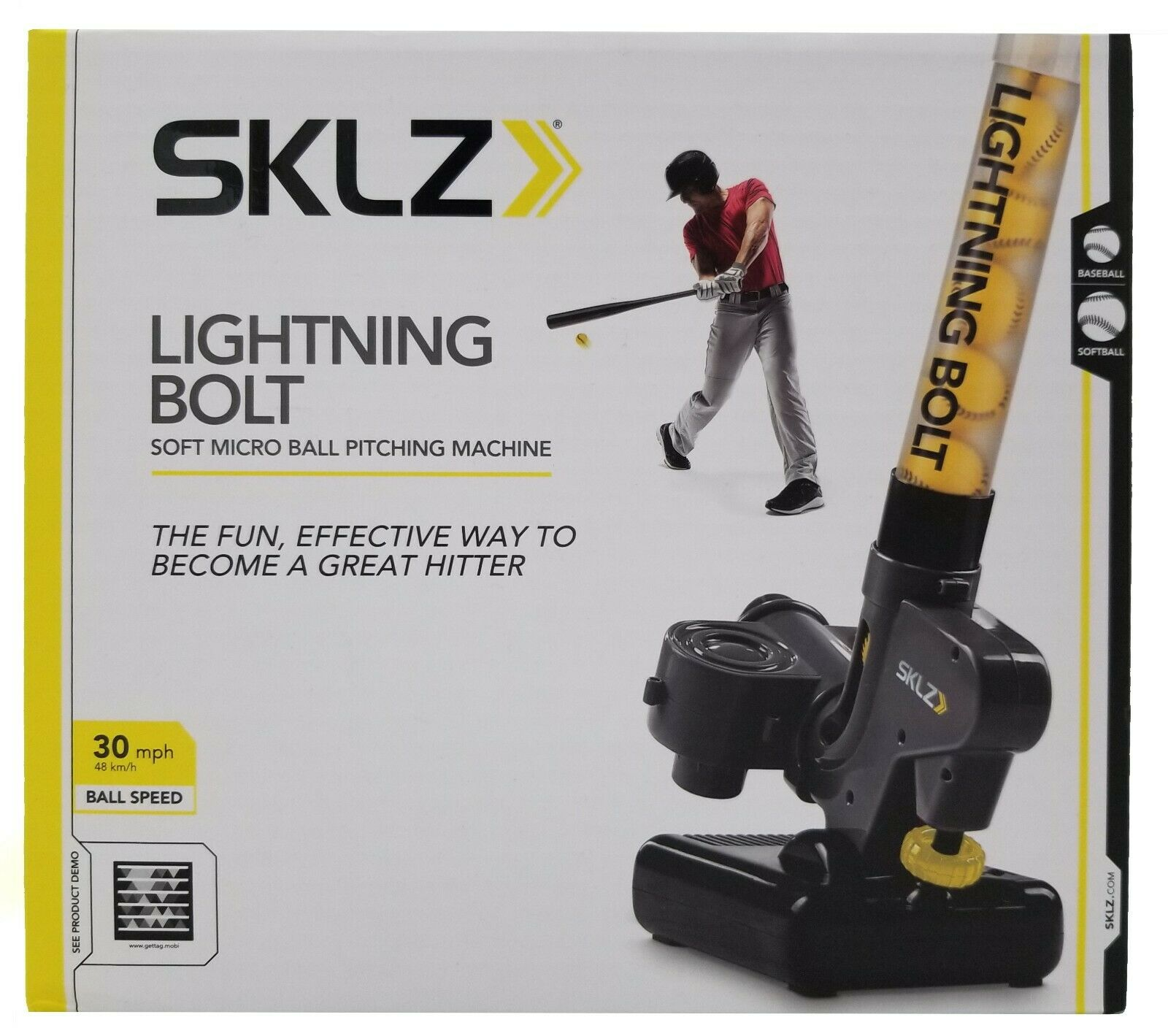 SKLZ Lightning Bolt Pitching Machine Pro