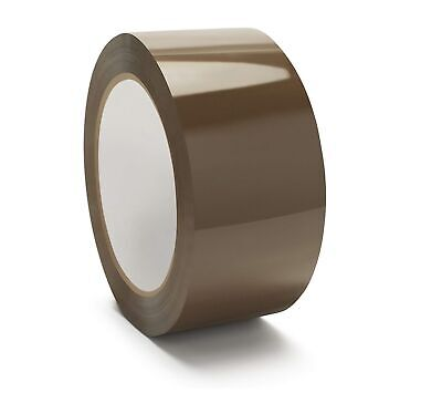 12 Rolls Browntan Packaging Tape - 2x110 Yards330 Feet 2 Mil Packing Tape