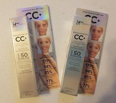 2 It Cosmetics Your Skin But Better CC+ Full Coverage Cream Medium 0.135fl.oz
