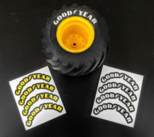 1/10 RC TAMIYA LUNCHBOX / MIDNIGHT PUMPKIN Tyre Sidewall Stickers / Decals, Tire