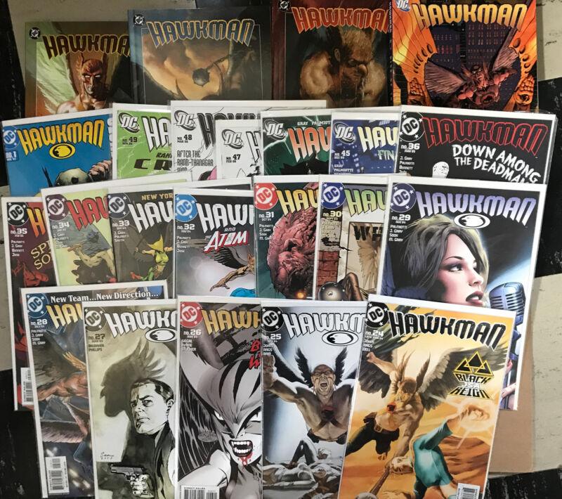Hawkman By Geoff Johns trades And DC Comics issues Black Adam JSA Hawkgirl