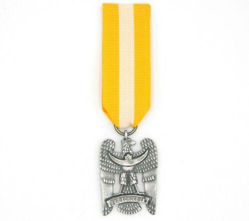 WW1 WW2 German Eagle Badge For Schlesien Schlesisches Bewährungsabzei