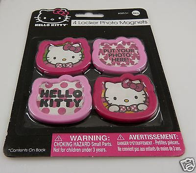 Hello Kitty locker photo magnets or anywhere Sanrio magnetic ()
