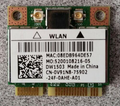 Dell Inspiron N5050 WiFi Wireless Card Broadcom BCM94313HMG2L DW1503 V91N8 GENUI