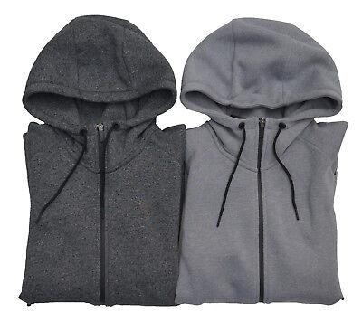 Icon Full Zip Hoody - Men's NIKE Jordan ICON Full Zip Hoodie Fleece Lining Size XS-3XL Grey Black