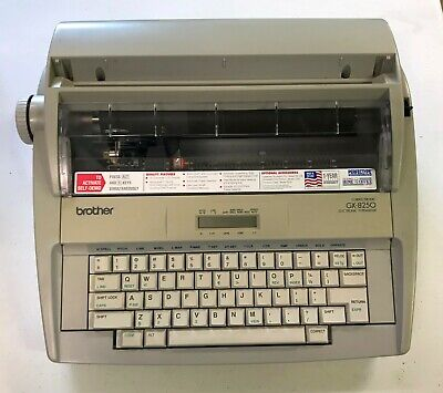 Brother Gx-8250 Wp Typewriter Wcoverribbonmanual Excellent