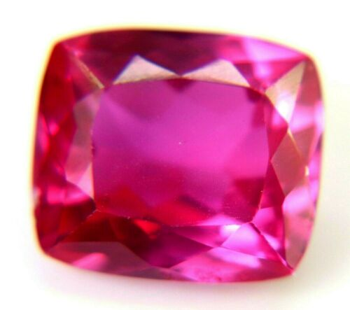 19.50 Ct AAA+ Natural Mozambique Pink Ruby Cushion Cut Certified Loose Gemstone