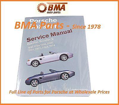 PORSCHE BOXSTER S SHOP MANUAL BOOK SERVICE REPAIR ROBERT BENTLEY PR8003004