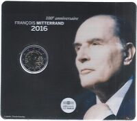 2 Euros - Francia - Año 2016 - Estuche Brillante Universal - François Mitterrand -  - ebay.es