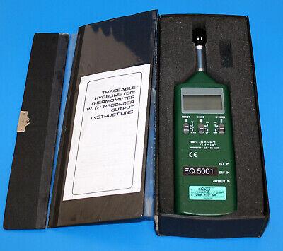 Vwr Traceable Humiditytemperature Meter Hand-held 89140-174 10.0 To 95.0 Rh