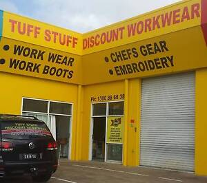WORKWEAR - CHEFS GEAR - WORKBOOTS - EMBROIDERY Urraween Fraser Coast Preview