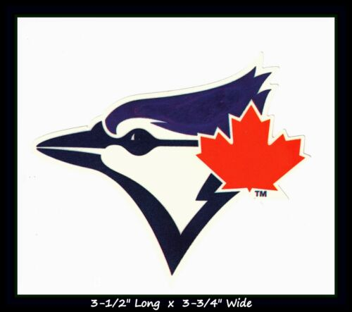 Toronto Blue Jays Baseball Mlb Decal Sticker Team Logo~buy 1 Get 1 30% Off