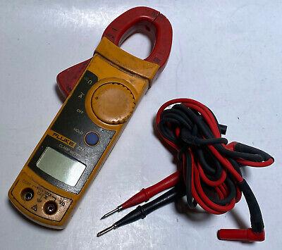 Fluke Model 321 Clamp Meter Continuity Voltage Tester Damaged Untested