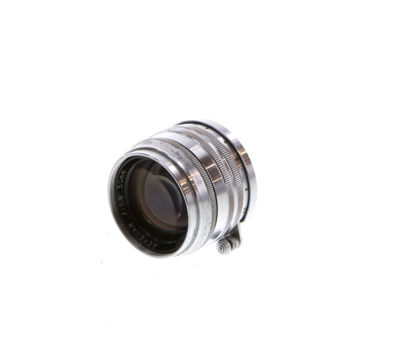Canon 50mm f/1.8 Serenar Chrome Lens for Rangefinder Camera UG