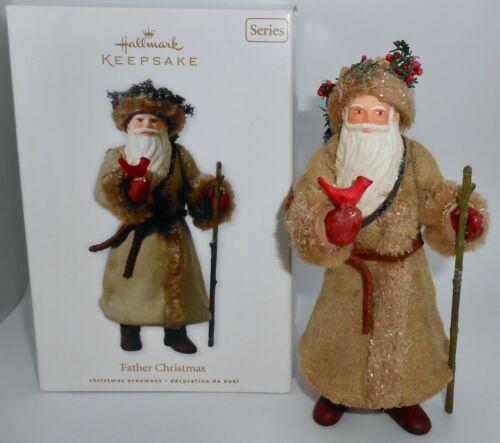 Hallmark Keepsake Christmas Ornament 2010 FATHER CHRISTMAS SERIES #7 Santa  H30