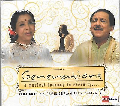 Generations a Musical Journey To Eternity - Nuevo Sonido Pista CD