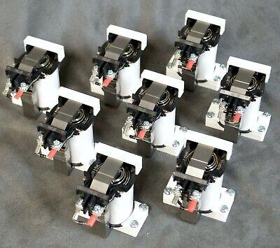 "8 each Virtual Pinball DOF Force Fdbck 24VDC Contactor Solenoid ""Thunderclap"""