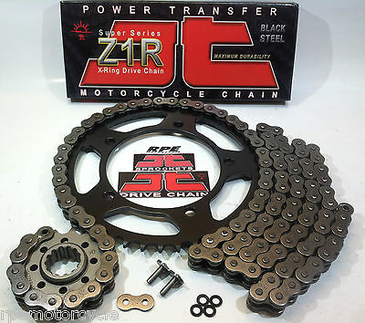 Acceleration Kit (SUZUKI TL1000s '97/00 JT Z1R X-Ring QUICK ACCELERATION CHAIN AND SPROCKETS KIT )