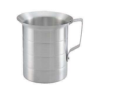 Winco Am-2 2-quart Aluminum Measuring Cup