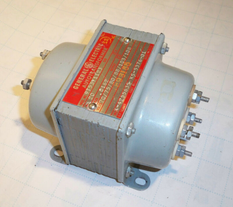 Telephone Ringing Current Generator Transformer, 20Hz, KS-5376, List 1