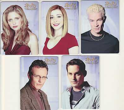 Series 2 Buffy The Vampire Slayer Ultimate Collector's Set - 5 Card Metal Set