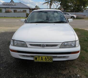 1996 Toyota Corolla Hatchback Greta Cessnock Area Preview