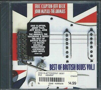 CD: VARIOUS - Best Of British Blues, Vol 1  (Best British Blues Albums)