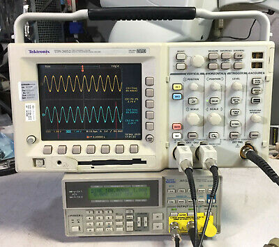 Tektronix Tds3052 2 Ch Dpo Oscilloscope 500mhz 5gsas Options
