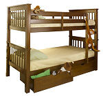 CLEARANCE SOLID WOOD OR METAL BUNK BEDS